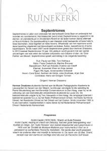 Programma 10 juni 2012a
