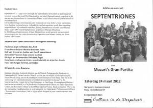 Programma 24 maart 2012