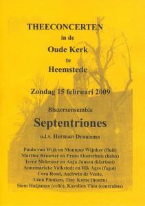 programma Heemstede 2009-1