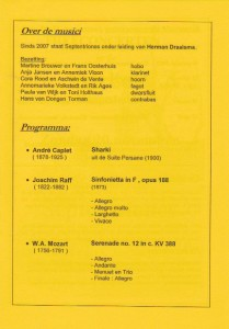 programma Heemstede 2011-3