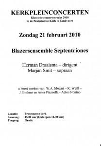 programma Zandvoort 2010-1