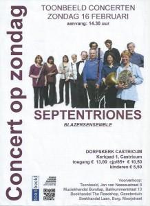 Poster Concert Castricum 2014