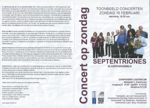 Programma Concert Castricum 2014-1