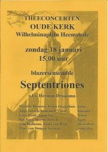 Poster Concert Heemstede 2015