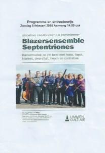 Poster Concert Limmen 2015