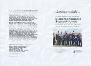 Programma Concert Limmen 2015-1