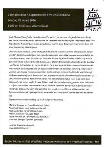 Programmablad Hoorn 20 maart 2016-2